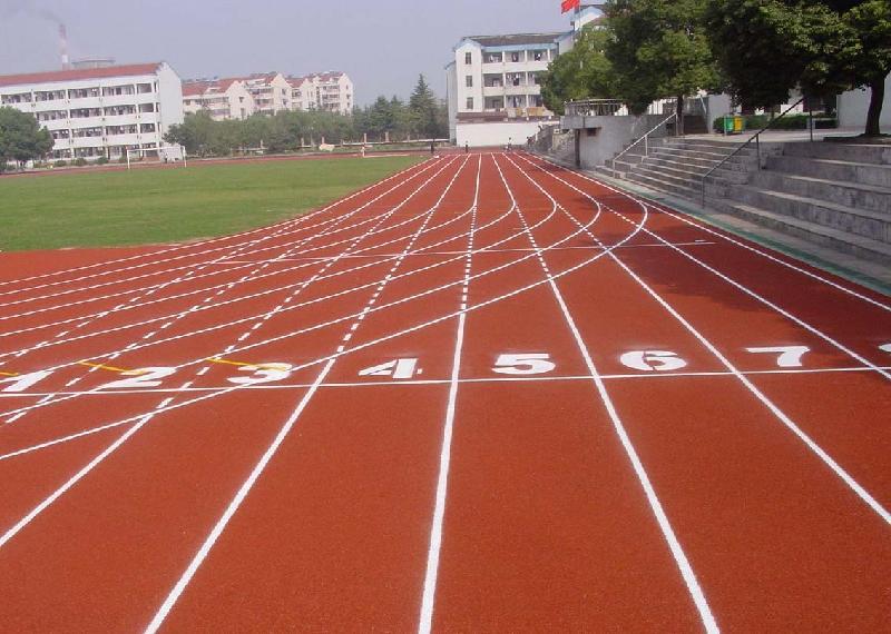 江苏江阴市第三实验中学塑胶跑道